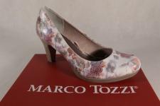 Marco Tozzi 22436 Pumps Slipper multicolor weiche Innensohle NEU!
