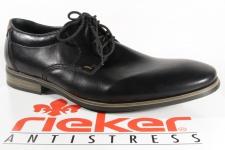 Rieker Schnürschuhe Sneakers Halbschuhe schwarz 10610 NEU