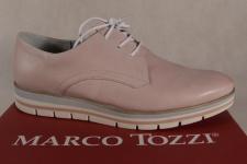 Marco Tozzi Schnürschuhe Sneakers Halbschuhe rosé 23209 NEU!