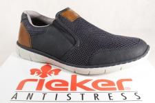 Rieker Herren Slipper Sneakers Halbschuhe 15850 blau NEU