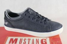 Mustang Schnürschuhe Sneakers Sportschuhe Halbschuhe blau 1267 NEU