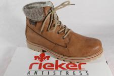 Rieker Stiefel Z1420 Stiefelette Boots Winterstiefel braun gefüttert NEU