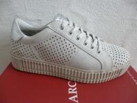 Marco Tozzi Schnürschuhe Sneakers Halbschuhe grau 23718 NEU!