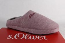 s.Oliver Damen Pantoffel Hausschuhe rose 27101 NEU!!