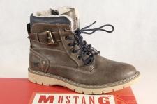 Mustang Knaben Stiefel, Stiefelette, Boots, Winterstiefel braun 5017 NEU!!