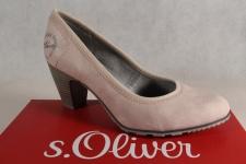 s.Oliver Pumps, Ballerina Slipper rose, 22404 NEU!