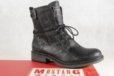 Mustang Stiefel Stiefeletten Schnürstiefel Boots navy 1264 NEU!