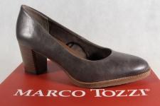 Marco Tozzi Pumps Ballerina Slipper pfeffer weiche Innensohle 22455 NEU!