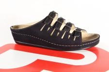 Berkemann Damen Pantolette Pantoffel schwarz 00737 NEU!