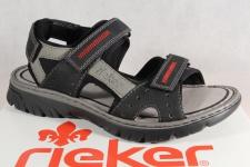Rieker Sandalen Sandaletten schwarz Klettverschluss 26757 NEU!!!