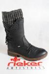Rieker-Tex Damen Stiefel, Stiefelette schwarz warm gefüttert 94773 NEU