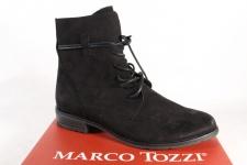 Marco Tozzi Damen Stiefel Stiefeletten Schnürstiefel, Boots schwarz 25112 NEU!!