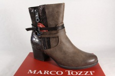 Marco Tozzi Damen Stiefel Stiefelette Boots braun 25304 NEU!