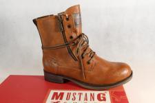 Mustang Stiefel Stiefeletten Schnürstiefel Boots braun 1139 NEU!