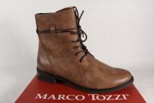 Marco Tozzi Damen Stiefel 25110 Stiefeletten Boots Schnürstiefel braun NEU!