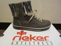 Rieker Stiefel Boots Winterstiefel, braun, warm gefüttert, NEU
