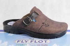 Fly Flot Herren Pantoffel, Filzoptik, braun, 882021 NEU!!