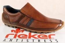Rieker Herren Slipper Sneakers Halbschuhe 08972 braun NEU