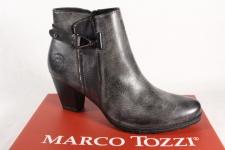 Marco Tozzi Damen Stiefel Stiefeletten Schnürstiefel, Boots grau 25051 NEU!