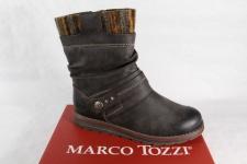 Marco Tozzi Stiefel, Stiefel, dunkelbraun, gefüttert, RV NEU!!