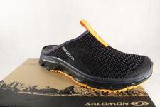 Salomon Clogs RX Slide, schwarz, Lederinnenfußbett 392442 NEU
