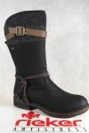 Rieker-Tex Damen Stiefel Stiefeletten schwarz warm gefüttert 94778 NEU