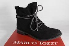 Marco Tozzi Stiefel, Stiefeletten, Boots Kunstleder schwarz 25100 NEU!