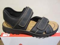Rieker Sandale Sandalen Sandaletten schwarz Klettverschluss NEU