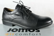 Jomos Halbschuh Sneaker, schwarz, atmungsaktives Wechselfußbett 208218 NEU!