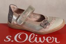 s.Oliver Ballerina beige/ rosa, Lederinnensohle NEU!!