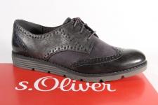 S.Oliver Damen Schnürschuh Sneaker Halbschuh grau 23623 NEU!