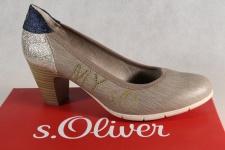 S.Oliver Damen Pumps Ballerina Slipper pepper grau 22407 NEU!