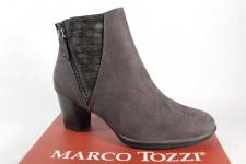 Marco Tozzi 25318 Damen Stiefel, Stiefelette, Boots grau NEU!