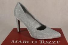 Marco Tozzi Pumps Ballerina Slipper silber 22405 NEU!