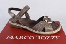 Marco Tozzi Mädchen Sandalen Sandaletten bronze NEU!!