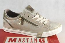 Mustang Schnürschuhe Sneakers Sportschuhe Halbschuhe bronze 1146 NEU