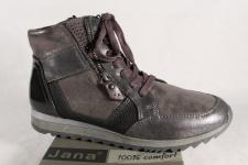 Jana Stiefelette, Stiefel, Boots grau 25203 NEU!