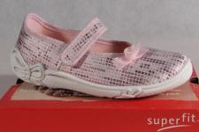 Superfit Mädchen Ballerina Slipper Halbschuhe Sneaker rosa NEU!