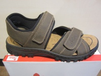 Rieker Sandalen Sandaletten braun Klettverschluss 25051 NEU