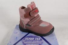 Super Slam Mädchen Stiefel Stiefeletten Boots Slam-TEX rosa NEU!