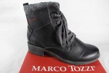 Marco Tozzi Stiefel Stiefeletten Boots Winterstiefel schwarz, gefüttert NEU!!