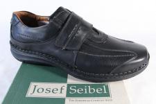 Josef Seibel Slipper Halbschuhe Sneakers Leder schwarz 43332 NEU