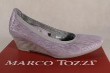 Marco Tozzi Pumps Slipper Ballerina flieder 22303 NEU!
