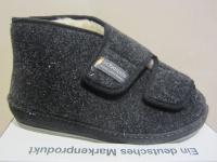 Schawos Herren Hausschuh Hausschuhe Pantoffel schwarz 6062 NEU!!