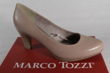 Marco Tozzi Pumps Ballerina Slipper beige weiche Innensohle Echtleder 22408 NEU!