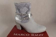 Marco Tozzi Stiefelette, Stiefel, grau, Reißverschluß 25303 NEU!
