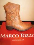 Marco Tozzi Stiefel 46406 Stiefelette, braun, cognac, gefüttert, RV NEU!!