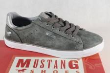 Mustang Schnürschuhe Sneakers Sportschuhe Halbschuhe grau 1267 NEU