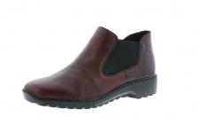 Rieker L6090 Stiefel Stiefeletten Boots Winterstiefel rot, gefüttert NEU