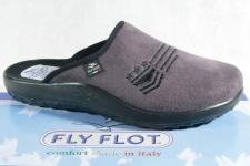 Fly Flot Herren Pantoffel, Textilstoff, grau, 881972NEU!!